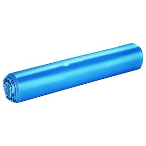 blauwe LDPE vuilniszakken 70x110cm T70 - per rol a 20 zakken