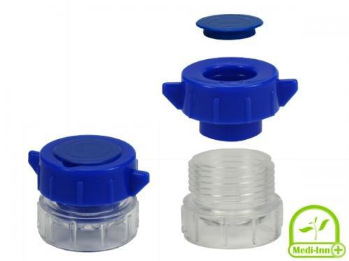 tablettenvermaler / pillen vergruizer blauw per 1 stuk