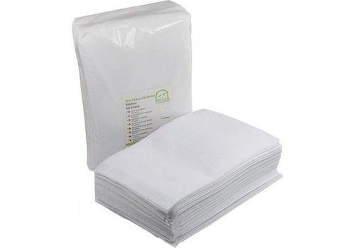50 washandjes superzacht molton - disposable