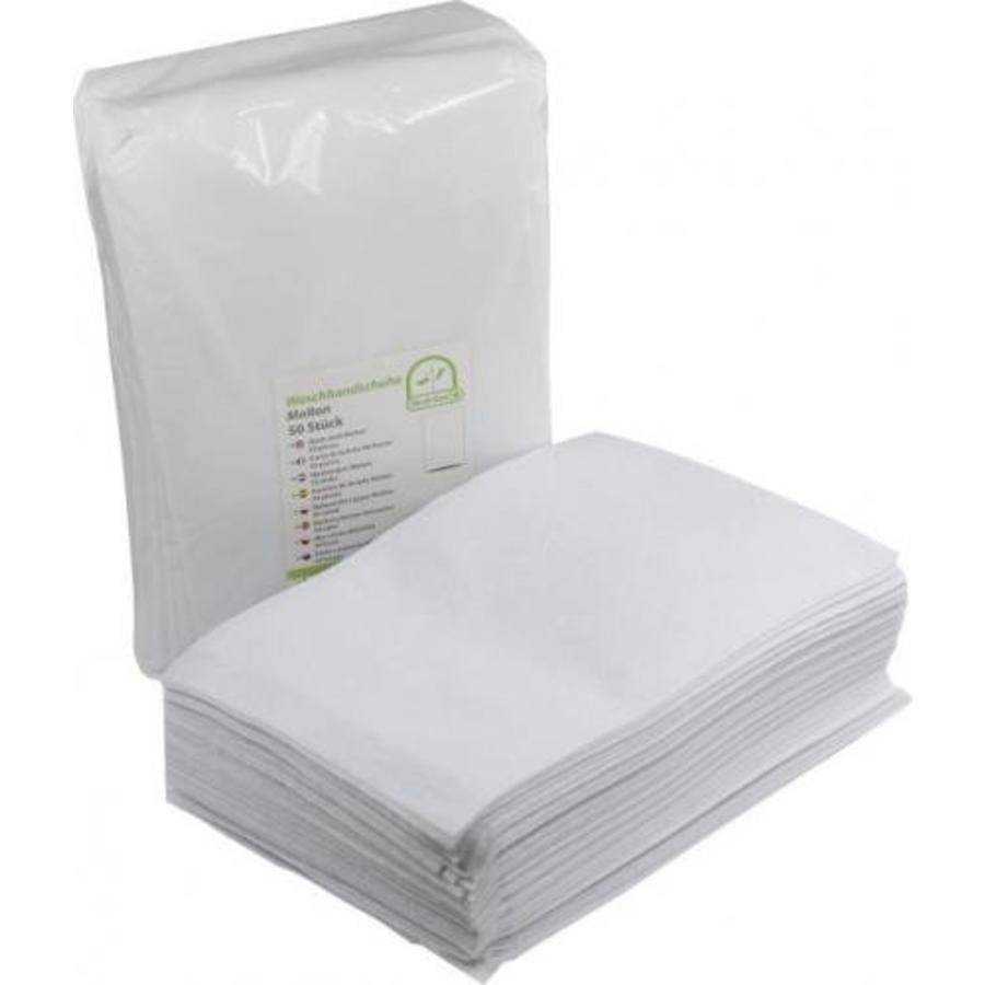 3b350edb549 Medi-Inn Washandjes superzacht molton - disposable - per 50 stuks pak