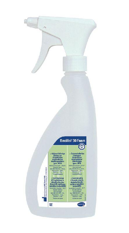 Bacillol 30 Foam spray 750 ml oppervlakte desinfectie