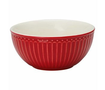 "GreenGate Schüssel ""Cereal bowl Alice"" red"