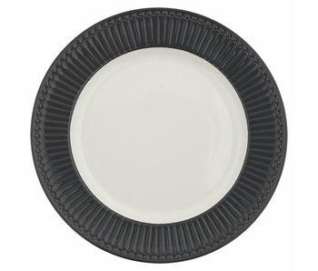 "GreenGate Essteller ""Dinner plate Alice"" dark grey"