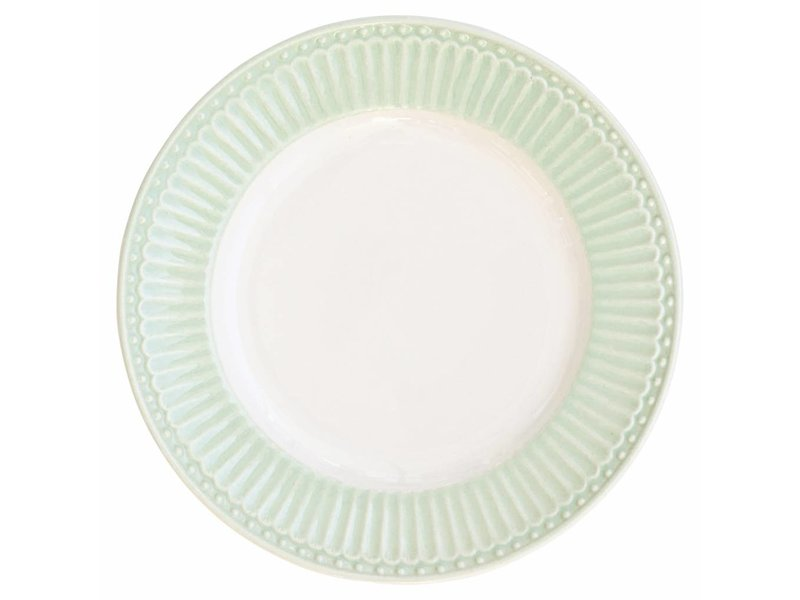 "GreenGate Essteller ""Dinner plate Alice"" pale green"