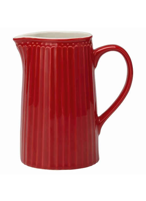 "GreenGate Krug ""Jug Alice"" red, 1L"