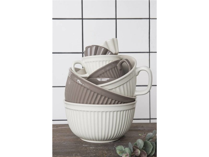 "IB LAURSEN Muffinform ""Butter"" Mynte Keramik"