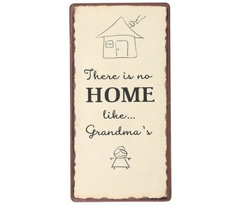 "IB LAURSEN Magnet ""There is no home like Grandma's"""