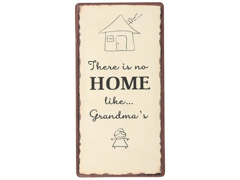 "IB LAURSEN Magnet ""There is no home like Grandma's"""