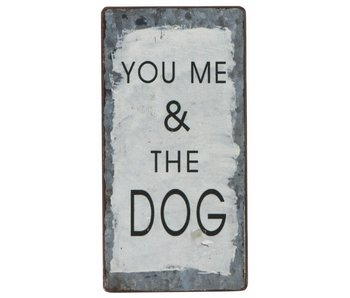 "IB LAURSEN Magnet ""You me & the Dog"""