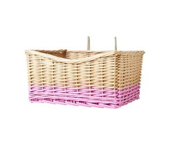rice dk Weidenkorb, Soft Pink