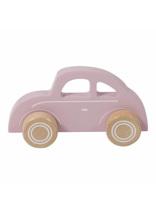 Little Dutch Holz Auto, pink