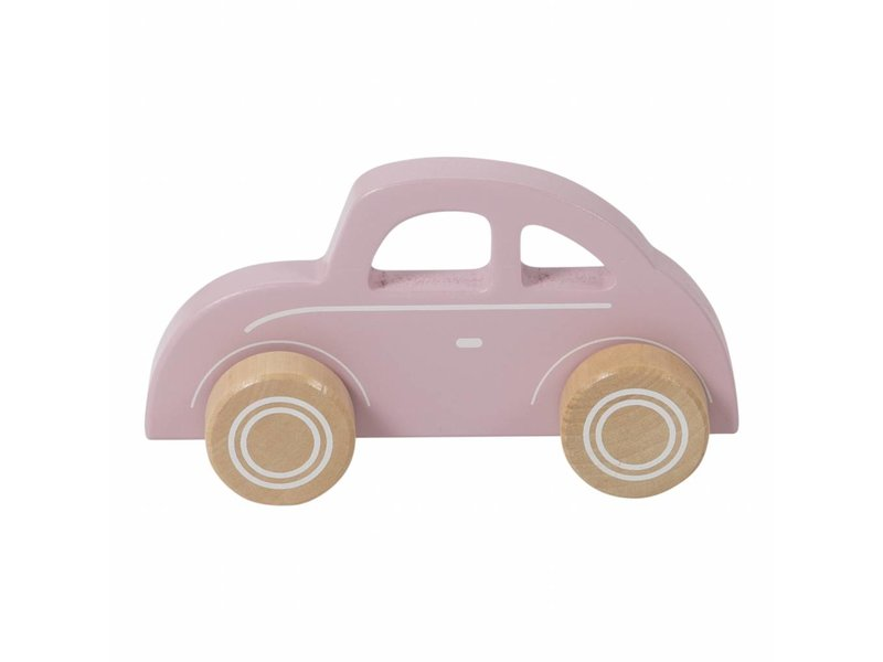 Little Dutch Holz Auto, pink