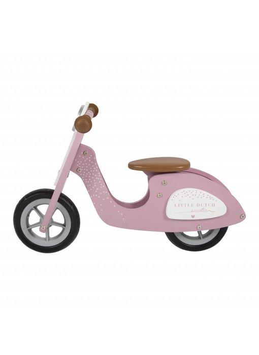 Little Dutch Laufroller aus Holz, Pink