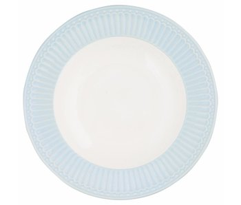 "GreenGate Tieferteller ""Deep plate Alice"" pale blue"