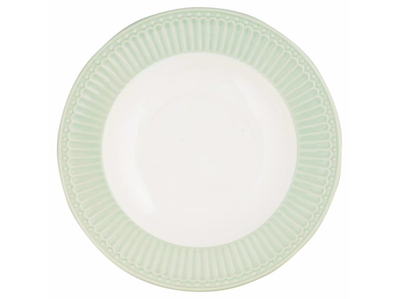 "GreenGate Tieferteller ""Deep plate Alice"" pale green"
