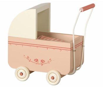 """Maileg Puppenwagen """"Pram Micro"""" rosa"""