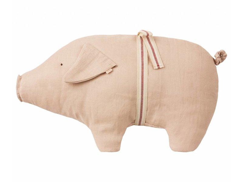 """Maileg Schwein """"Pig Polly Pork"""" medium mit Schleife"""