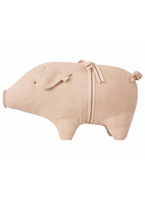"""Maileg Schwein """"little pig"""" mit Schleife"""