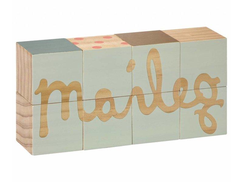 Maileg Logo Block bunt