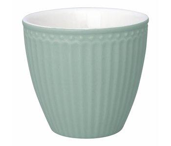 "GreenGate Becher ""Latte cup Alice"" dusty mint"