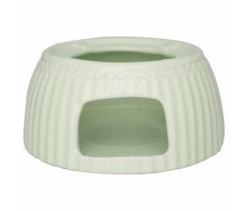 """GreenGate Tea warmer """"Stövchen"""" Alice pale green"""