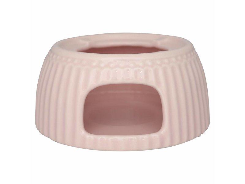"""GreenGate Tea warmer """"Stövchen"""" Alice pale pink"""