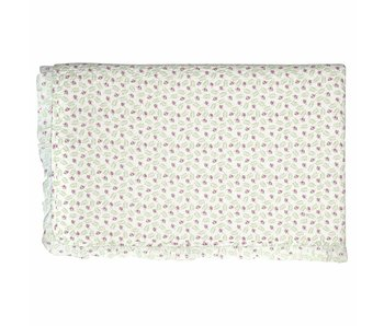 "GreenGate Quilt  ""Bed cover Lily petit white"" 180x230cm"