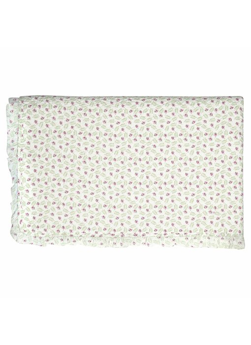 """GreenGate Quilt  """"Bed cover Lily petit white"""" 180x230cm"""