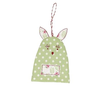 "GreenGate Eierwärmer ""rabbit Spot"" pale green"