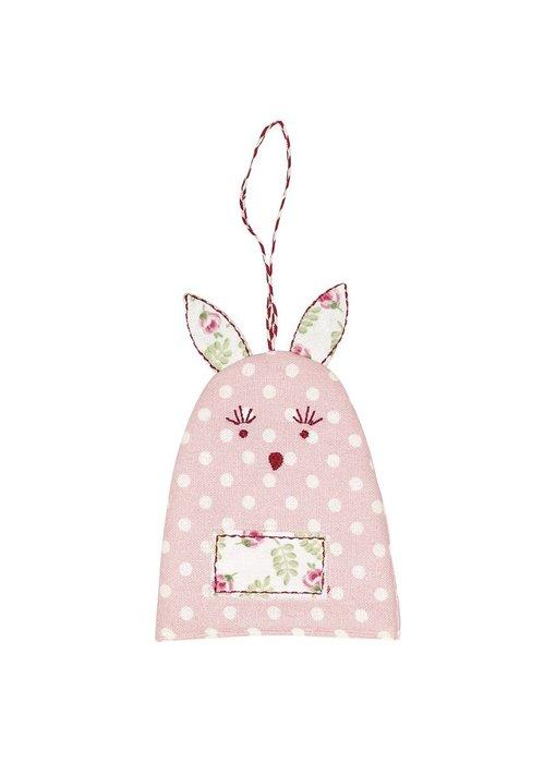"""GreenGate Eierwärmer """"rabbit Spot"""" pale pink"""