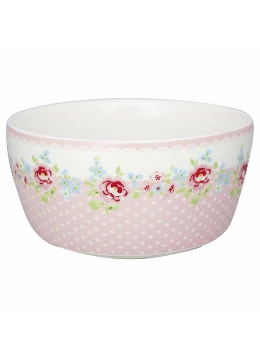 "GreenGate Kinderschüssel ""Kids bowl Meryl"" pale pink"