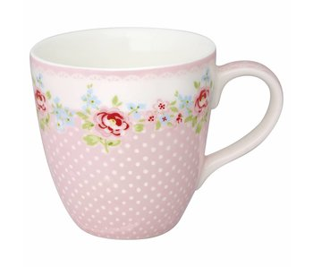 "GreenGate Kinder Becher ""Kids mug Meryl"" pale pink"