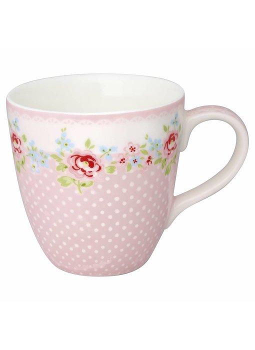 "GreenGate Kinder Becher ""Kids mug Meryl"" pale pink"