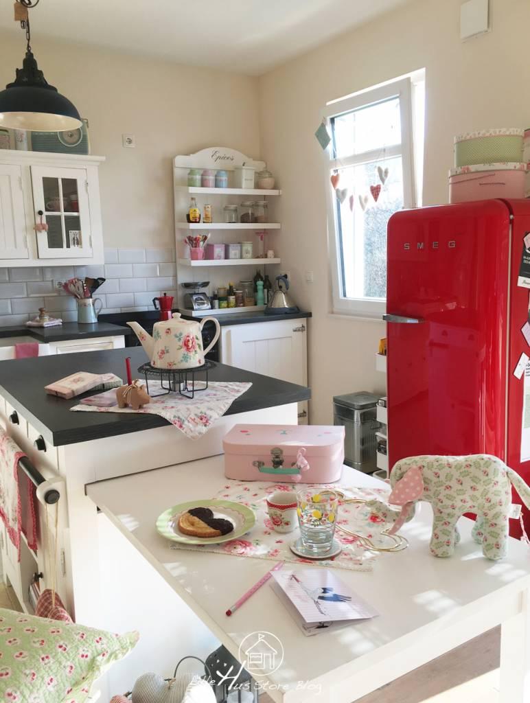Die neue GreenGate Kollektion ist in unsere Landhausküche eingezogen ♥