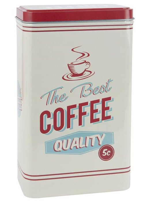 "IB LAURSEN Retro Dose ""Coffee"""