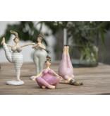 """IB LAURSEN Deko-Figur """"Yoga Dame"""" Kerze"""
