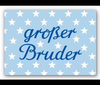 "krima & isa Postkarte ""großer Bruder"""