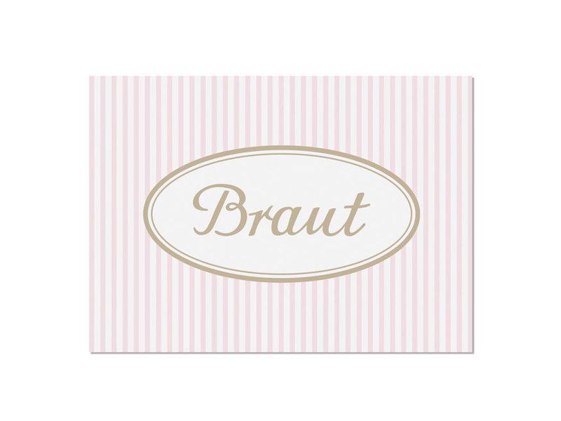 "krima & isa Postkarte ""Braut"""