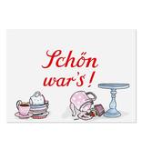 """krima & isa Postkarte """"Schön war's!"""""""