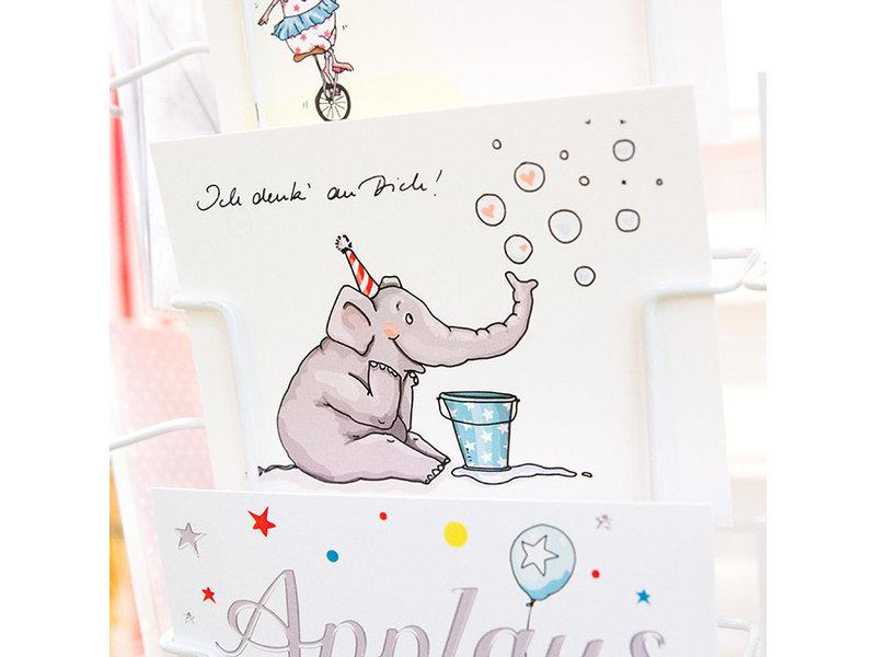 "krima & isa Postkarte ""Ich denk an Dich"""