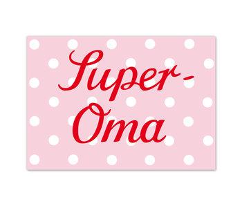 "krima & isa Postkarte ""Super-Oma"""