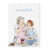 "krima & isa Postkarte ""mmmhhh"""