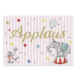 "krima & isa Postkarte ""Applaus"""