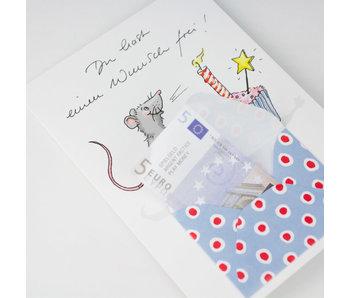 krima & isa Briefchenkarte Törtchen