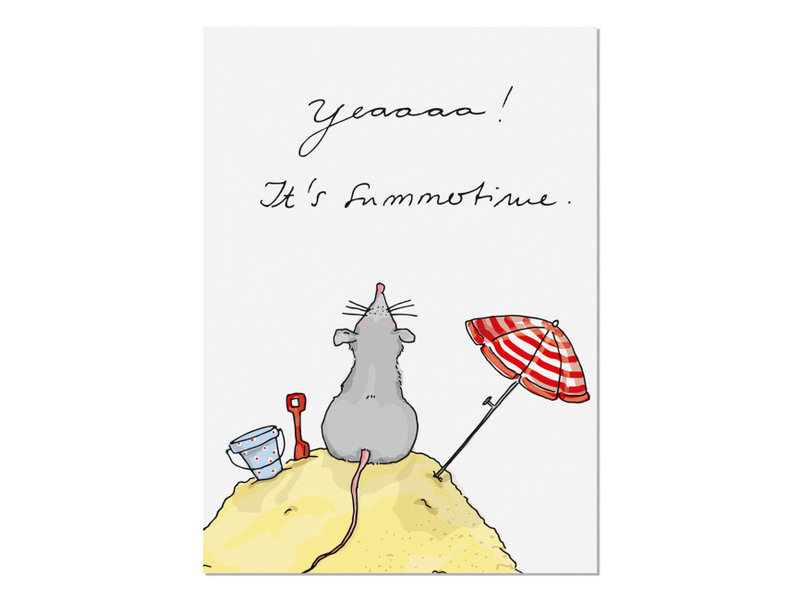 krima & isa Postkarte Summertime