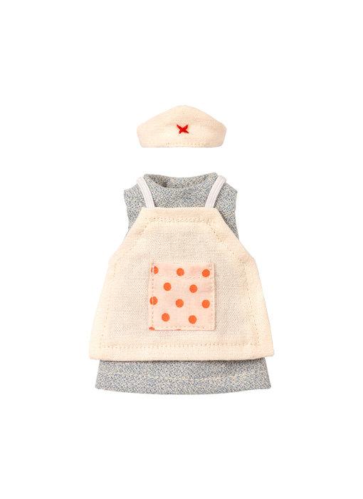 Maileg Klassisches Krankenschwester-Outfit für Mama-Mäuse