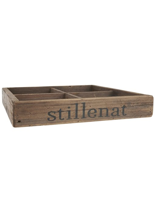 IB LAURSEN Kiste mit 4 Fächern Stillenat