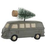 IB LAURSEN Auto mit Tannenbaum stehend, schwarz