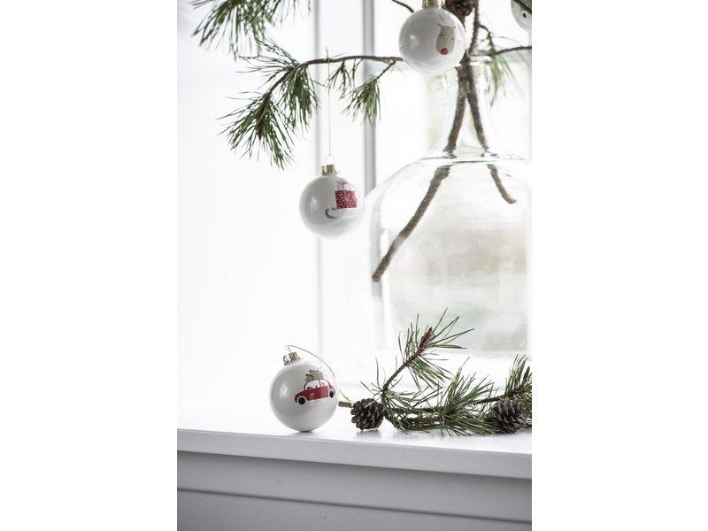 """IB LAURSEN Weihnachtskugel """"Weihnachtsmotive"""" 4 Stk."""