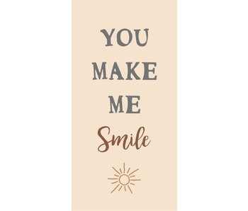 "IB LAURSEN Magnet ""You make me smile"""